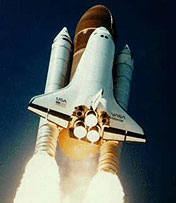 Shuttle Columbia at Liftoff